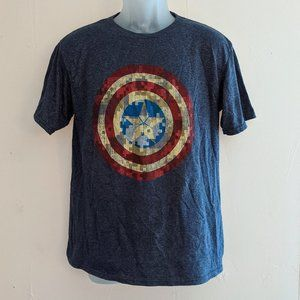 """Captain America T-shirt """"The Winter Soldier"""" XL"""